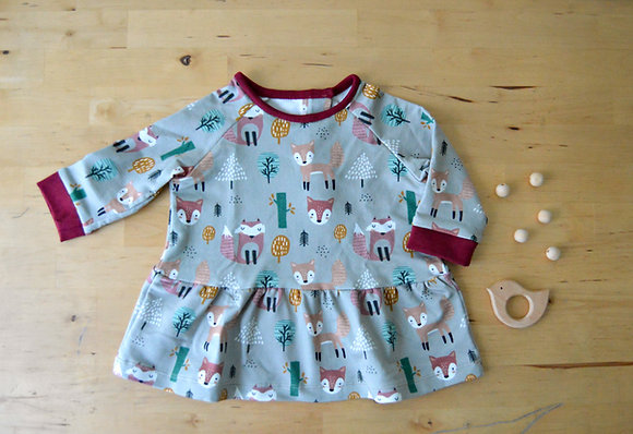 Taller de costura - Vestido bebé