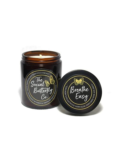 'Breathe Easy' Mint, Eucalyptus & Menthol Candle
