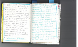 Coming of Age - Sketchbook scan 2