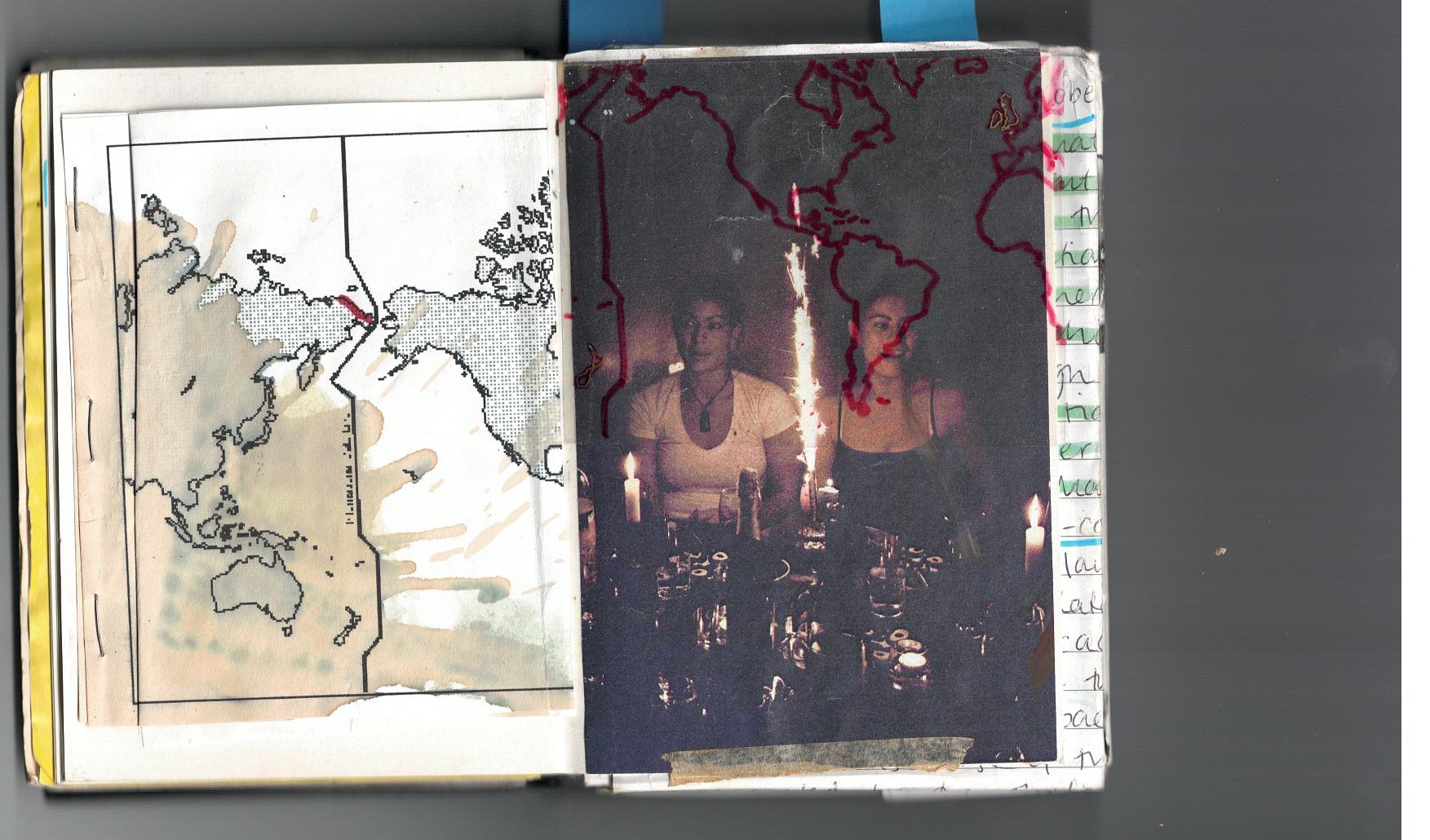 Coming of Age - Sketchbook scan 5