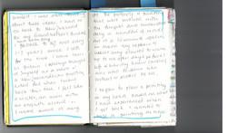 Coming of Age - Sketchbook scan 1