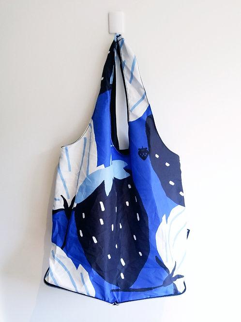 Blue Shopper Tote
