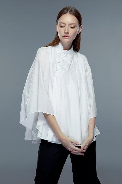 Slanted Collar Shirt