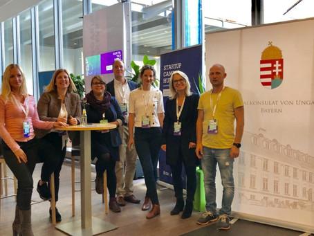 Öt magyar startup mutatkozott be Németország nagyszabású tech konferenciáján