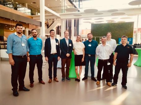 Magyar Ipar 4.0 startupok mutatkoztak be a Baden-Württembergben