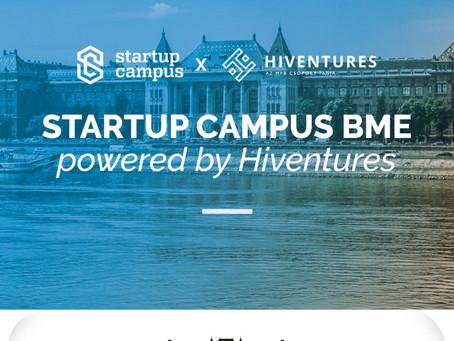 Elindult a jelentkezés a Startup Campus BME powered by Hiventures programra!