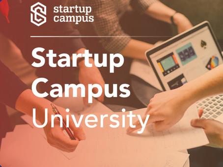 Startup Campus University – Kerülj egy lépéssel közelebb a milliós befektetéshez!