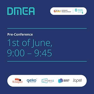 DMEA Pre Conference - Soc.media backgrou