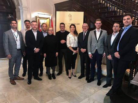 Három napos üzleti túrán vettek részt a magyar startupok Londonban