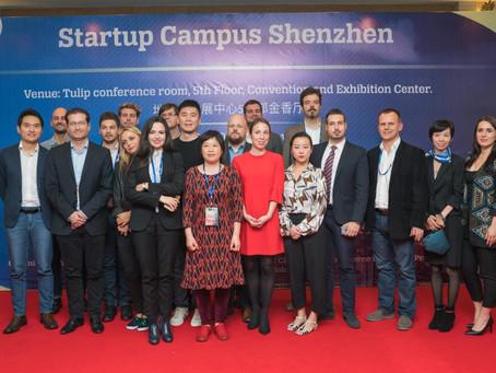 Három magyar startup mutatkozott be Kínában