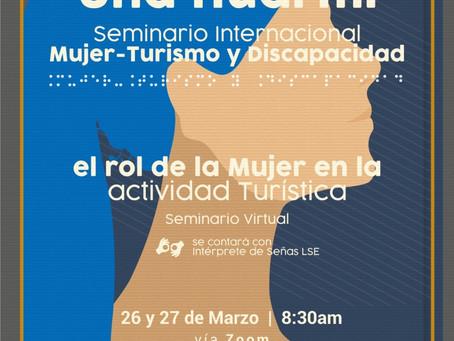 Nuevo Seminario Internacional: Mujer, Turismo y Discapacidad