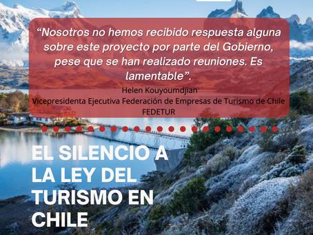 Claves para entender la falta de patrocinio a la  Ley de Rescate al  Turismo en Chile