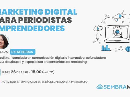 Marketing digital para periodistas emprendedores