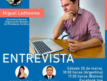 OMPT Bolivia entrevista a Miguel Ledhesma