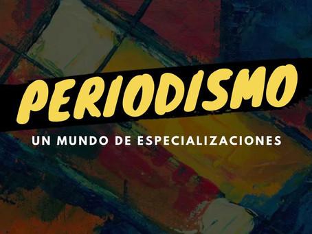 "OMPT  libera libro ""Periodismo: un mundo de especializaciones"""
