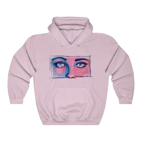 Blue Eyes Unisex Hoodie
