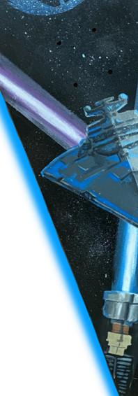 Star Wars Custom skateboard