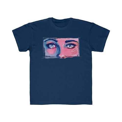 Blue Eyes Kids Tshirt
