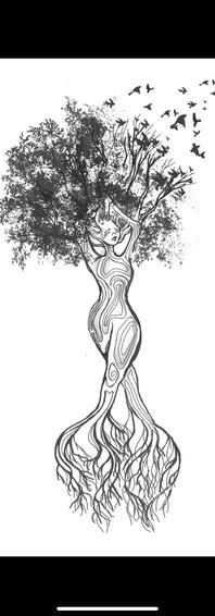 Tree last tattoo design