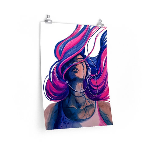 Tears Away Poster