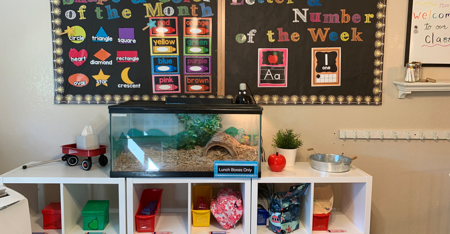 3 Year-Old Class Cubbies
