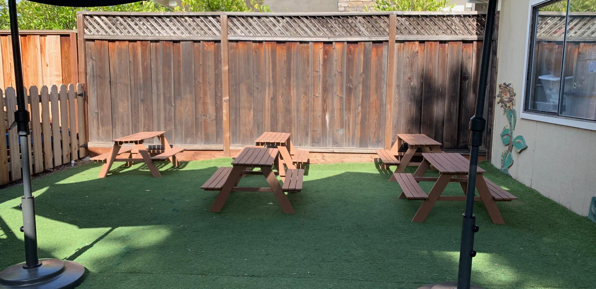 grass picnic area