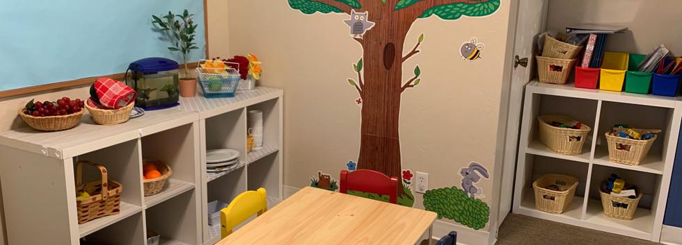 imaginative play area