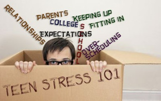 Teen Stress is BIG Stress and Massage Therapy can help!