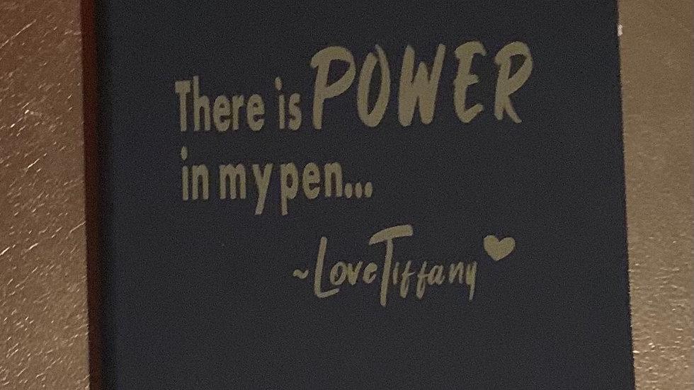 LoveTiffany Journal