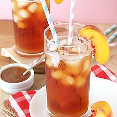 Peach Iced Tea 16oz