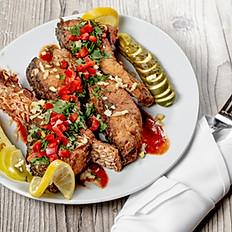 Special Seasoned and Fried Sazan