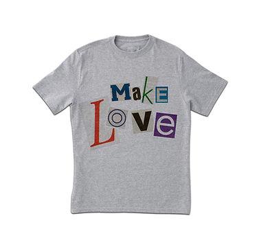 Make Love Print T-Shirt