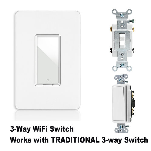 Smart non-dimmer Switch (3-way)