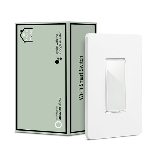 Smart non-dimmer Switch (Single Pole) | Works with Alexa, Google Assistant