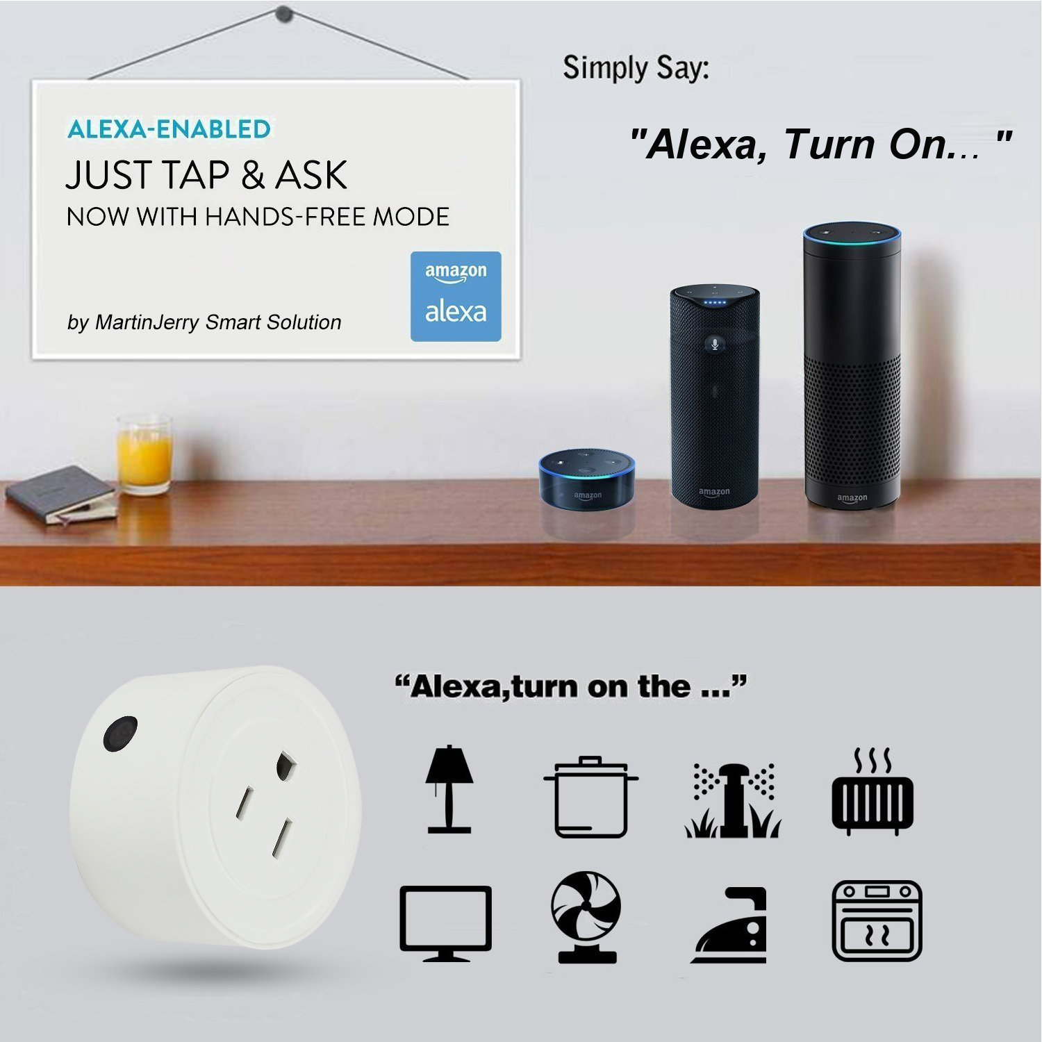 Smart Plugs that Work with Alexa, Google Home | martinjerry