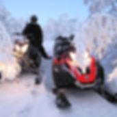 Сафари на снегоходах в Мурманске