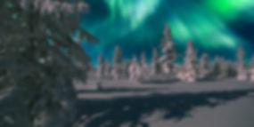 Northern Lights - Aurora borealis over s