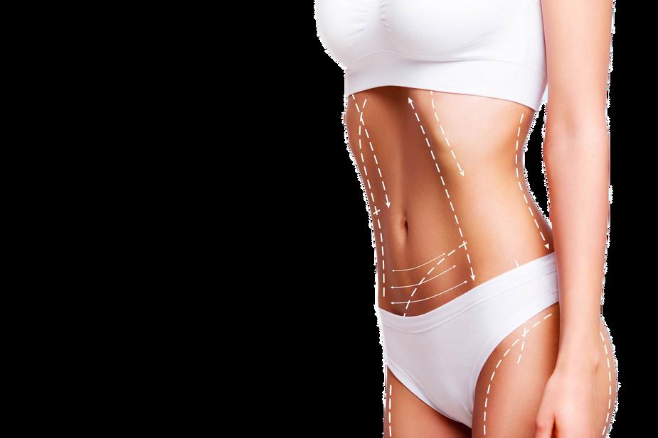Female-body-cosmetic-surgery-and-skin-li
