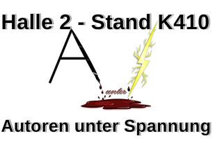 Autoren unter Spannung wieder auf der Leipziger Buchmesse!