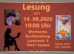 Lesung am 14.08.2020 in Rastatt
