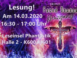 Lesung auf der Leipziger Buchmesse 2020!