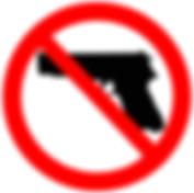 Bild durchgestrichene Pistole