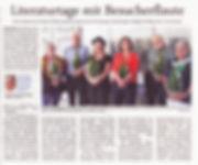Bild Pressebericht über Literaturtage 2018 in Pinneberg