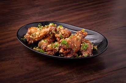 Garlic Rub Chicken Wings