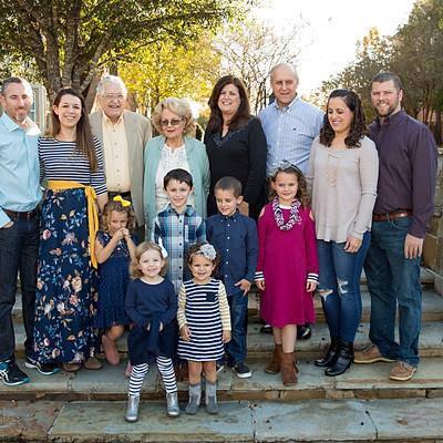 Ellzey Family 2018