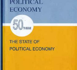 The state of political economy