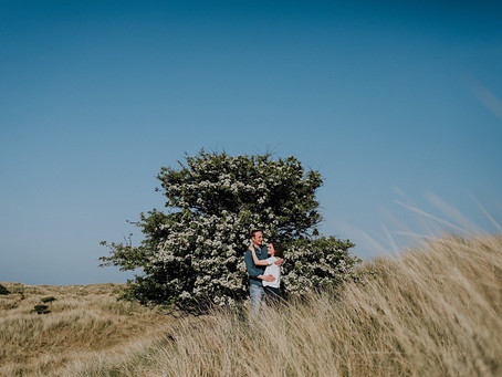 Lockdown Love - Engagement shoot in Northumberland