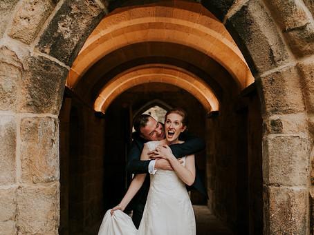Elly & Gav's Hexham Abbey Wedding