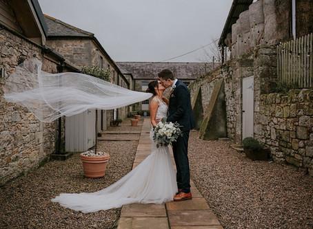Bekki & Michael's Winter Wedding at Doxford Barns