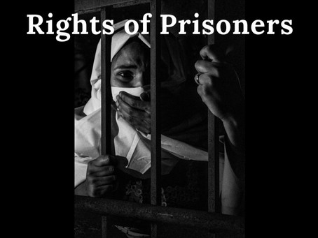 RIGHT OF PRISONERS